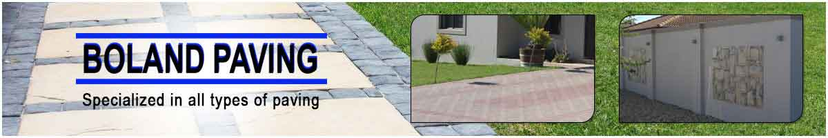 Boland Paving Front Page Ad